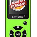 BERTRONIC Made in Germany BC03 Royal MP3-Player 8 GB Bis 100 Stunden Wiedergabe Radio | Portabler Player mit Lautsprecher | Audio-Player für Sport mit Micro SD-Karte & Silikonhülle :                   Empfehlenswert