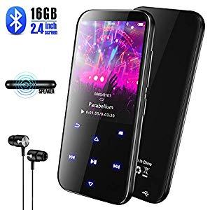olycism 16gb tragbarer bluetooth mp3 musik player mit eingebautem lautsprecher und fm radio. Black Bedroom Furniture Sets. Home Design Ideas
